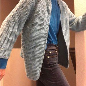 Eileen fisher knit open cardigan